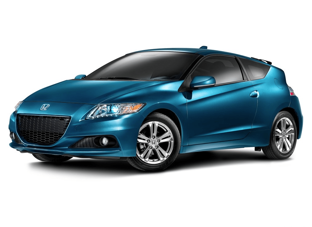 2013 Honda CR-Z blue