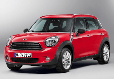 2015 Mini Countryman red