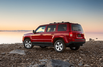 2014 Jeep Patriot red