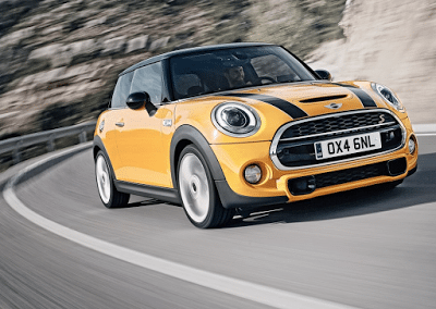 2015 Mini Cooper S yellow