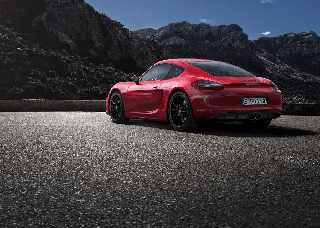 2015 Porsche Cayman GTS red