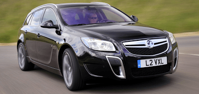 2010 Vauxhall Insignia VXR Sports Tourer Black