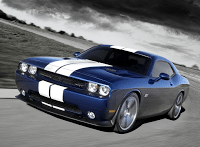 2011 Dodge Challenger SRT8 392 Blue