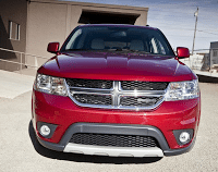 2011 Dodge Journey red
