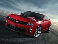 2012 Chevrolet Camaro ZL1 Red
