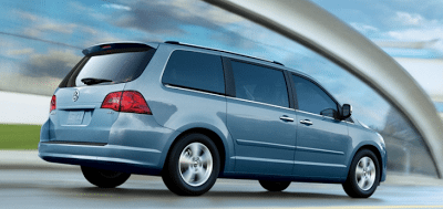 2011 Volkswagen Routan Blue