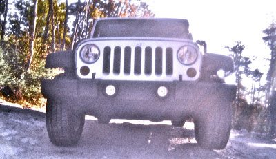 2012 Jeep Wrangler Unlimited Sport Grille