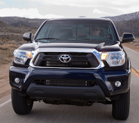 2012 Toyota Tacoma Front End