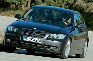 2006 BMW 3-Series Cornering
