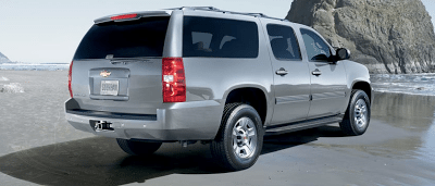 2011 Chevrolet Suburban Three Quarter Ton Silver