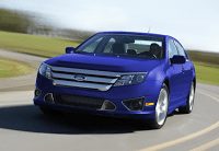 2012 Ford Fusion Blue
