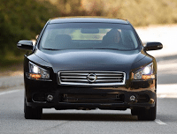 2012 Nissan Maxima Black Front End