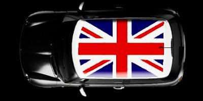 Mini Cooper Union Jack Roof