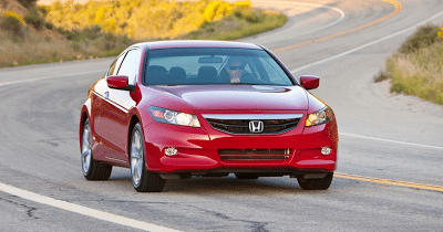 2011 Honda Accord Coupe Red