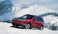 2011 Subaru Forester Red