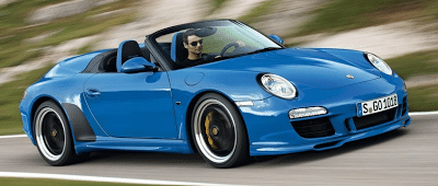 2011 Porsche 911 Speedster Blue