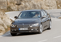 2012 BMW 3-Series Cornering