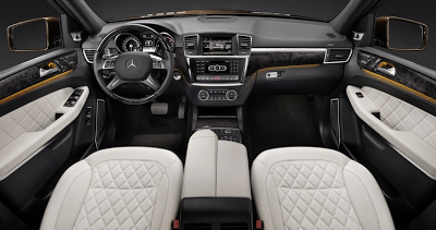2013 Mercedes-Benz GL-Class Interior White Leather