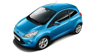 2012 Ford Ka Dive Blue