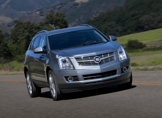 2012 Cadillac SRX front end