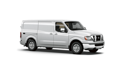 2016 Nissan NV white