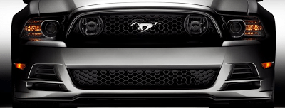 2013 Ford Mustang GT Convertible grille