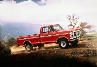 1978 Ford F150 Ranger Red