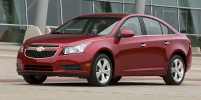 2012 Chevrolet Cruze red