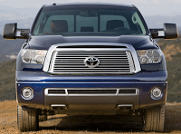 2012 Toyota Tundra double cab grille