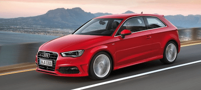 2013 Audi A3 Red