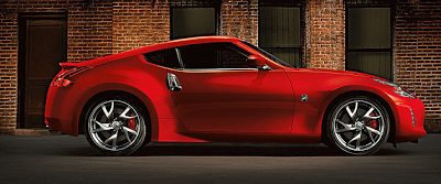 2013 Nissan 370Z red side view