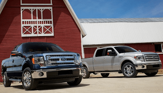 2013 Ford F-150 pair