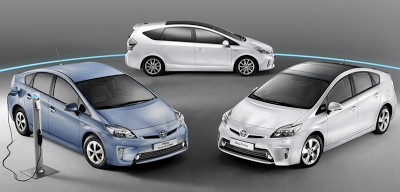 2013 Toyota Prius and Prius V and Prius Plug-In