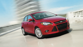 2013 Ford Focus red