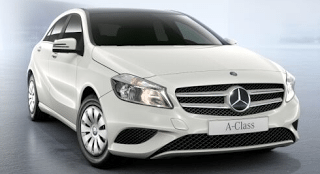 2013 Mercedes-Benz A180 Blueefficiency white