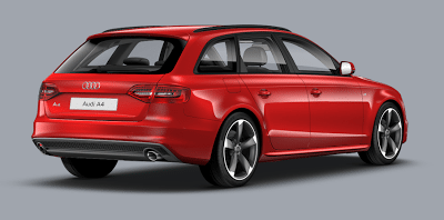 2013 audi a4 avant black edition 2.0 TFSA misano red