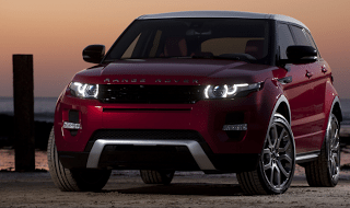 2013 Land Rover Range Rover Evoque Firenze Red Fuji white roof