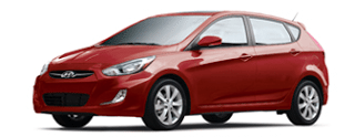 2013 Hyundai Accent GLS 5-Door Boston Red