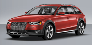 2013 Audi A4 Allroad red