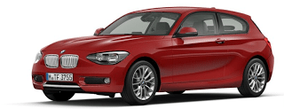 2013 BMW 118d three-door red