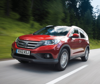 2013 Honda CR-V red