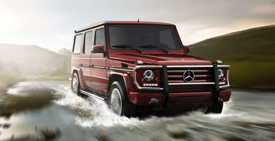 2013 Mercedes-Benz G550 Storm Red