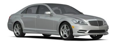 2013 Mercedes-Benz S550 Silver Sport Package
