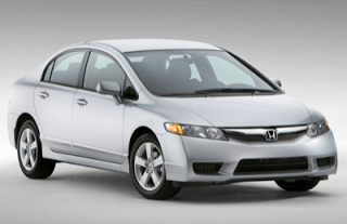 2009 Honda Civic Sedan silver
