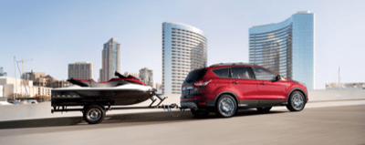 2013 Ford Escape Towing Ruby Red