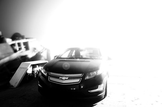 2013 Chevrolet Volt overexposed front angle