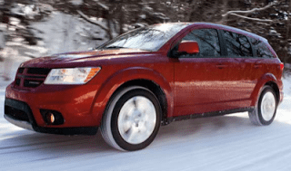 2013 Dodge Journey Red