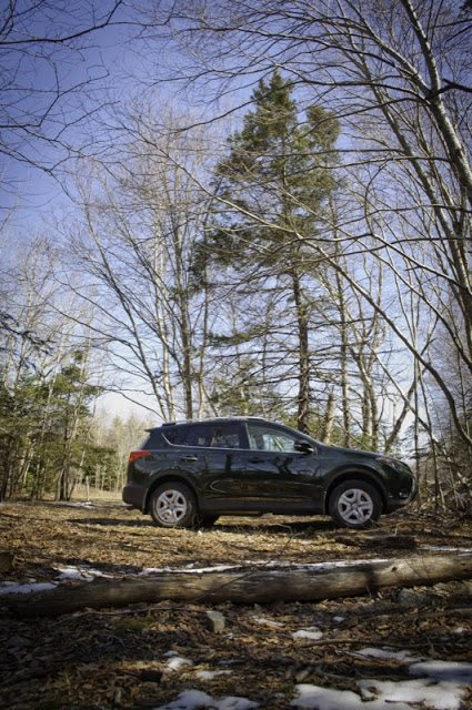 2013 Toyota RAV4 LE in the off road