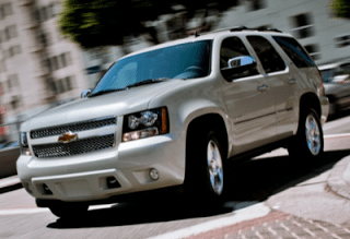 2013 Chevrolet Tahoe beige city driving