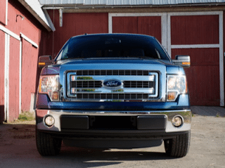 2013 Ford F-150 front end